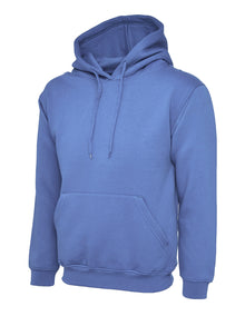 Uneek Classic Hooded Sweatshirt Violet UC502