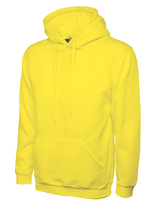 Uneek Classic Hooded Sweatshirt Yellow UC502