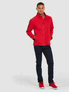 Uneek Classic Full Zip Soft Shell Jacket Red UC612