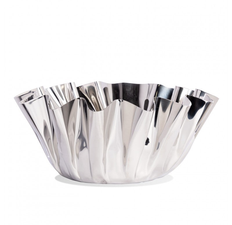 Polished Stainless Steel Narciss Bowl 12