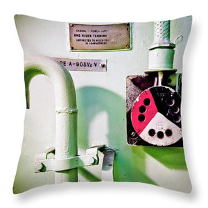 Pipe  - Throw Pillow
