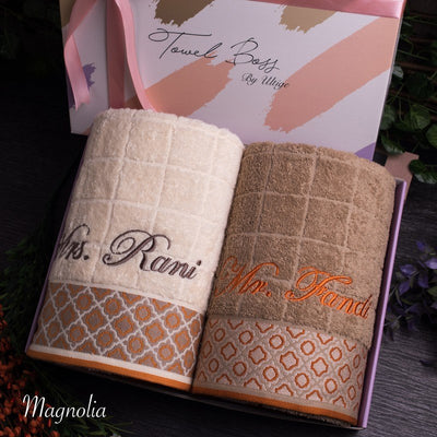 Couple Towel - Magnolia