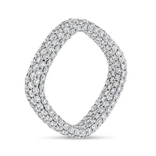 Inside-Out Square Diamond Ring