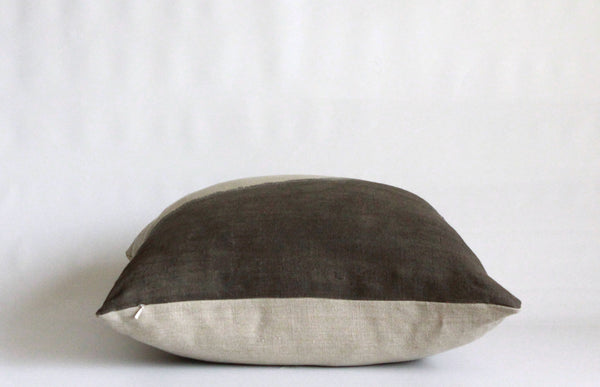 Charcoal Ridge Pillow Cover