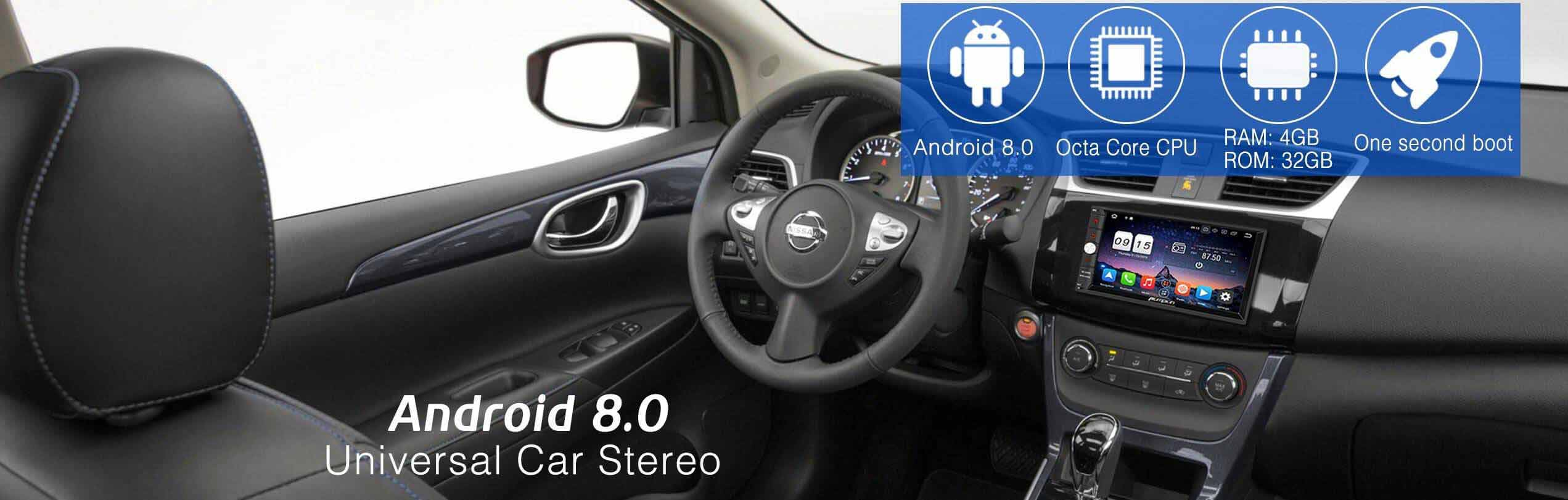 android 8.0 car stereo
