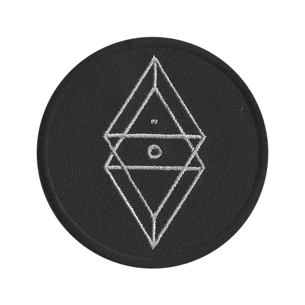 Black Water Embroidered Patch
