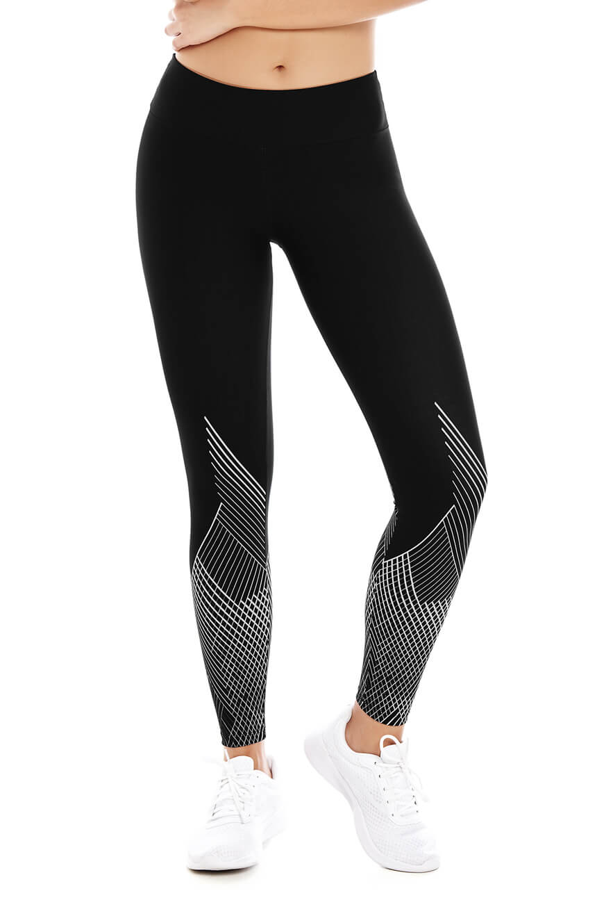SPORT LEGGINGS WITH JACQUARD EFFECT CHA22939