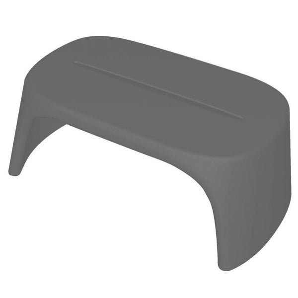 slide amélie panchetta bench for outdoors - grey | shop online ikonitaly
