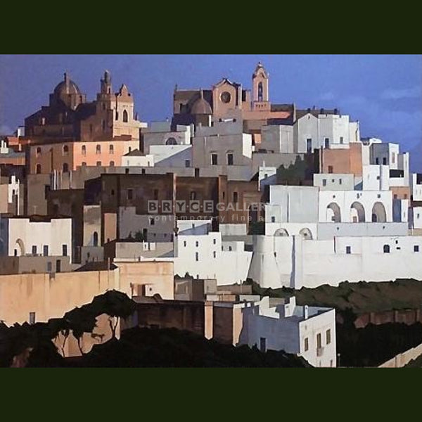 La Citta Bianca Ostuni Italy Paintings