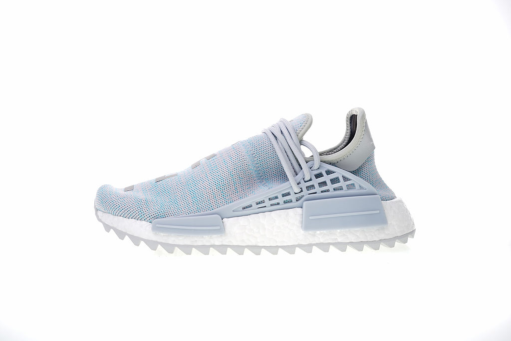 big sale 99753 f0b94 BBC x Pharrell x adidas NMD Human Race Trail light blue