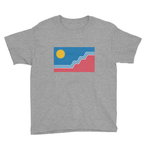 Youth Short Sleeve T-Shirt - Sioux Falls Flag