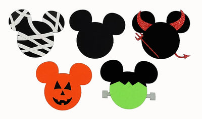 Mousy Halloween Heads