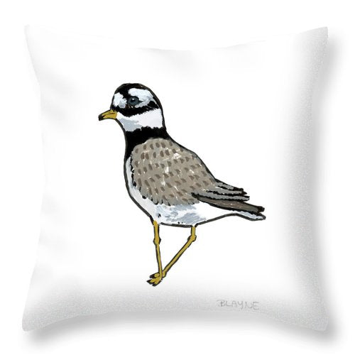 Courage Gull - Throw Pillow