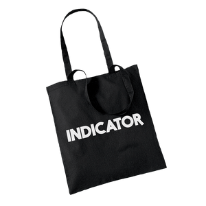 INDICATOR black Tote bag