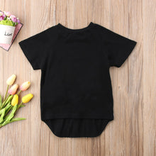 Load image into Gallery viewer, Fashion Bunny Toddler Baby Short Sleeve Rabbit Top 1-6T