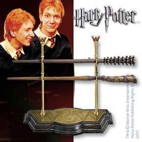 Weasley Twins Wand Collection Harry Potter