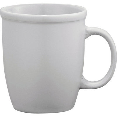 Cafe Au Lait Ceramic Mug - White
