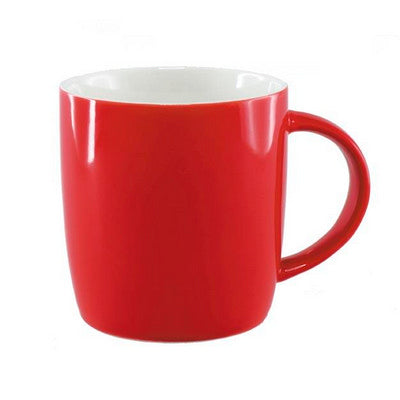 Ariston New Bone Barrel Mug - Red / White