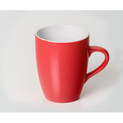 Caribbean Red/White Mug