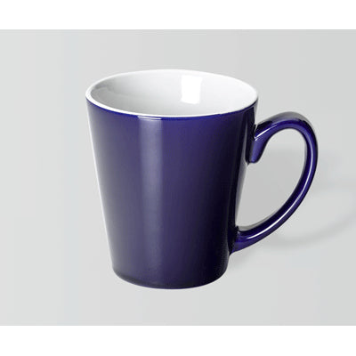 Latte Cobalt Blue/White Mug
