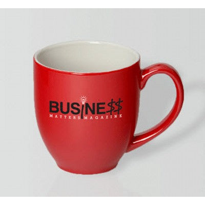 Manhattan Red/White Mug