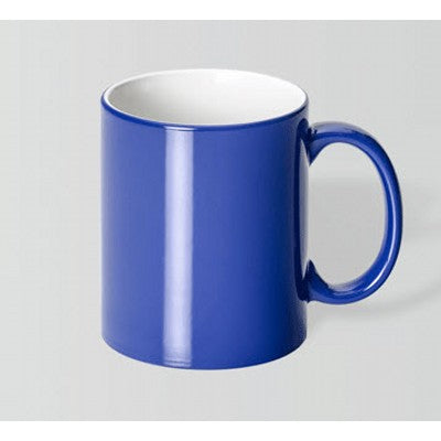Toucan Cobalt Blue/White Mug