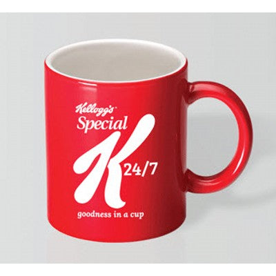 Toucan Red/White Mug