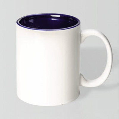 Toucan White/Cobalt Blue Mug