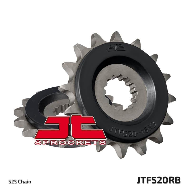 JTF520 Rubber Cushioned Front Drive Motorcycle Sprocket 16 Teeth (JTF 520.16 RB)
