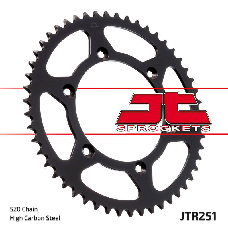 Rear Motorcycle Sprocket for Yamaha_YZ250 F-Z A B_10-12, Yamaha_YZ450 F-T V_05-06