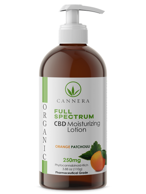 Full Spectrum Organic CBD Lotion 250MG
