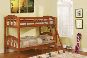 CM-BK524OAK - Coney Island Twin over Twin Bunk Bed