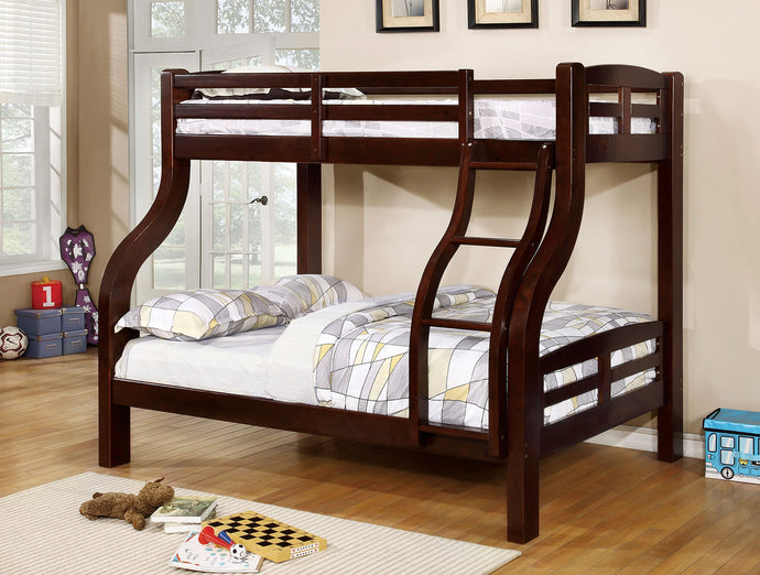 CM-BK618EX - Solpine Twin over Full Bunk Bed