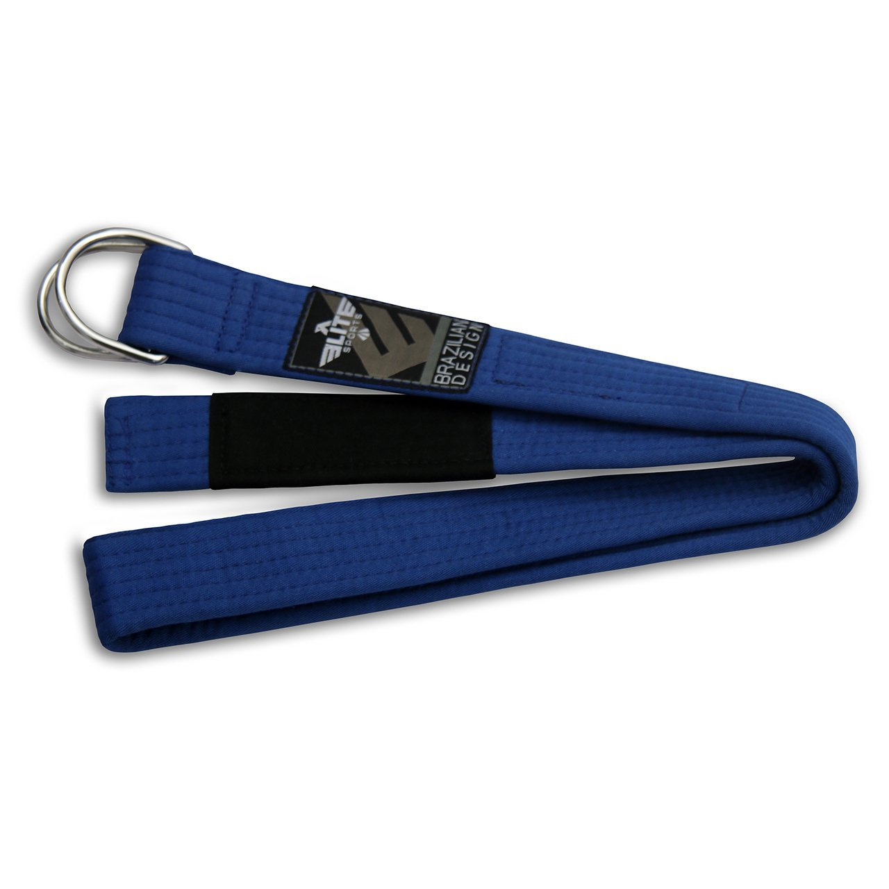 Load image into Gallery viewer, Elite Sports Adult Brazilian Jiu Jitsu BJJ Blue Belt with Buckle