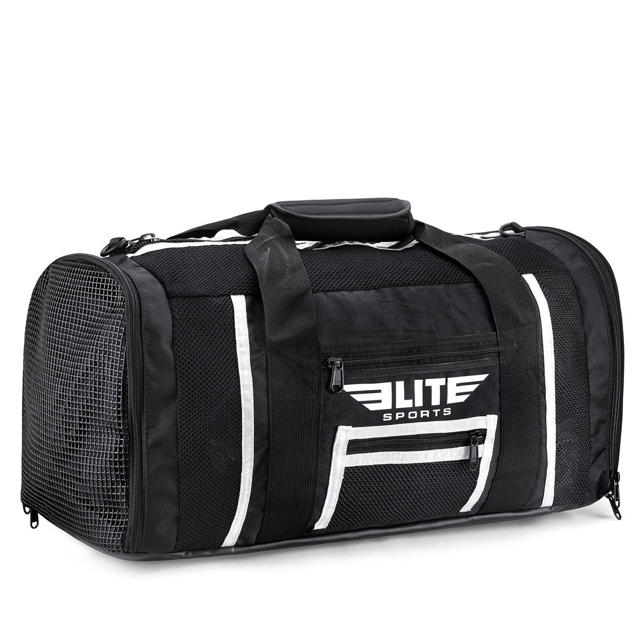 Load image into Gallery viewer, Elite Sports Mesh Black Large Crossfit Gear Gym Bag