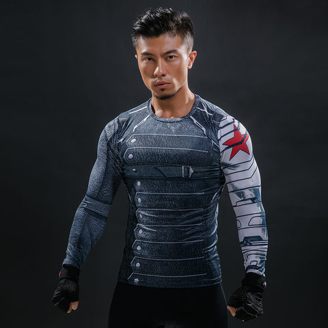 Winter Soldier Compression Shirt