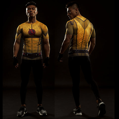 Image of Kid Flash Compression Shirt