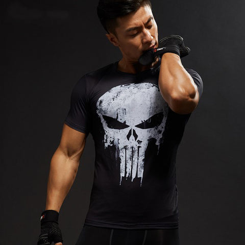 Image of Punisher Compression Shirt