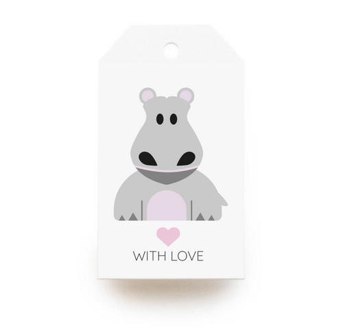 Hippo Gift Tags x10 - Stationery in Lagos, Nigeria, Hybrid Pencil