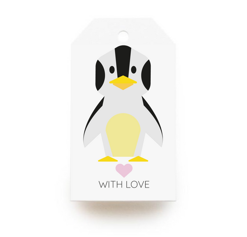 Penguin Gift Tags x10 - Stationery in Lagos, Nigeria, Hybrid Pencil