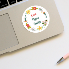 Floral Personalised Stickers - Stationery in Lagos, Nigeria, Hybrid Pencil