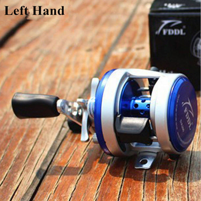 11+1BB 4.7:1 Bait Casting Reel Metal Left Right Hand Cast Drum Wheel Surfcasting Trolling Sea Baitcasting Fishing Reel