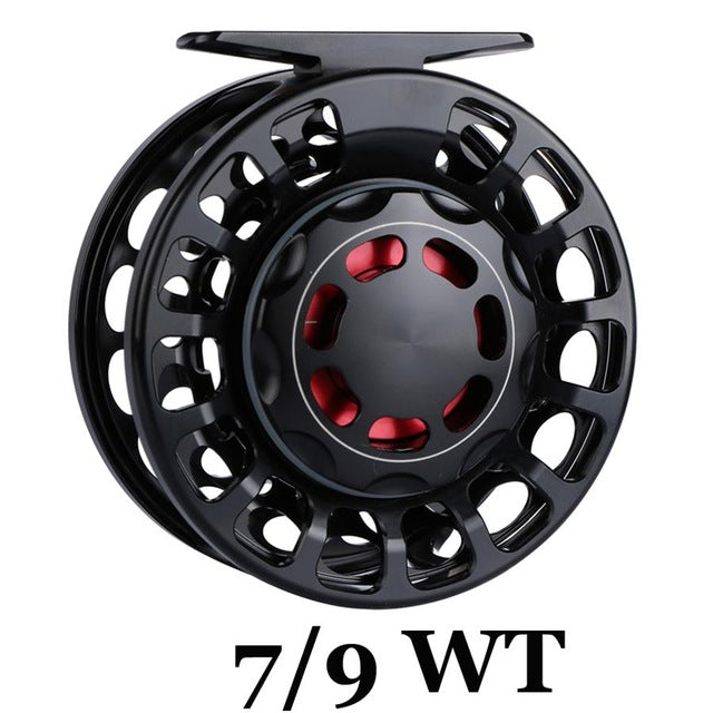 Maximumcatch 100% Waterproof 3/5/7/9/10 WT Fly Reel Large Arbor Saltwater CNC Fly Fishing Reel