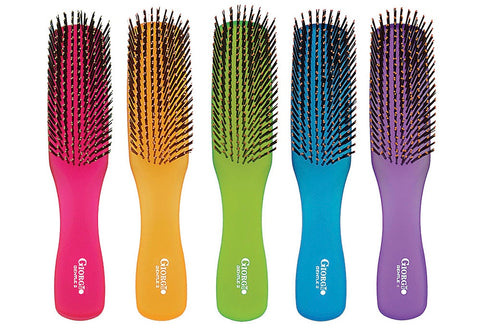 Giorgio Hair Brush Neon Collection
