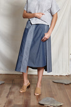Load image into Gallery viewer, MIKA A LINE SKIRT - DENIM