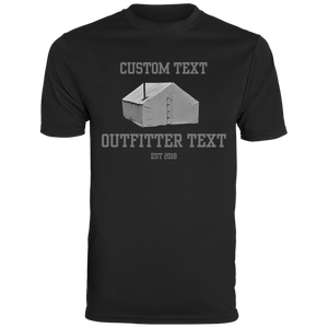 Wall Tent Outfitter Custom Wicking Tee