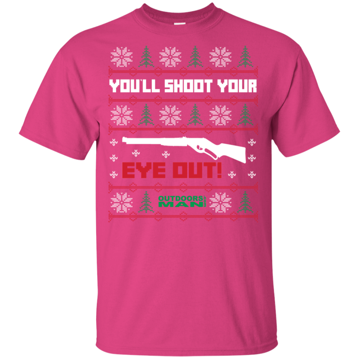 Kids Shoot your eye out T-Shirt