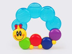 Danybaby Safety First Water-Filled Caterpillar Baby Teether Teething Rattle Easy To Grab & Carry