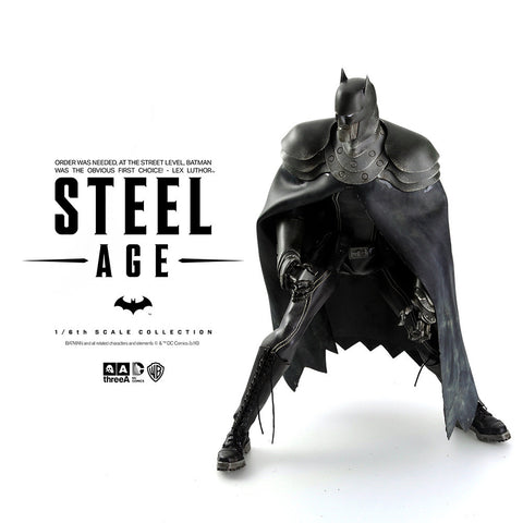 Batman Steel Age Night Colorway from ThrreeA 1/ 6 th scale