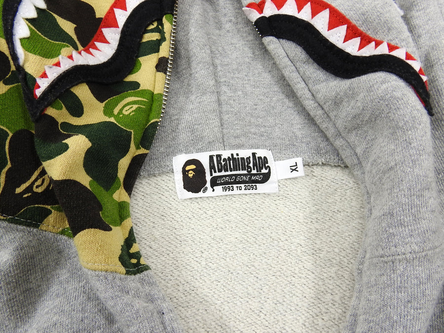 A Bathing Ape Shark Full Zip Hoodie Bearbrick Toy Collaboration - XL